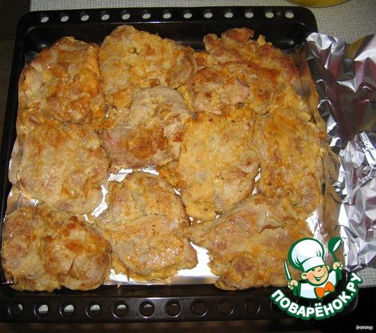 Готовим Свинина, запеченная с помидорами и сыром простой рецепт приготовления с фото #3
