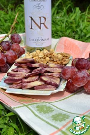 Рецепт Сыр в виноградных листьях