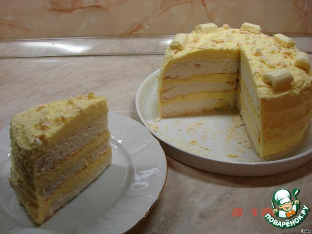 рецепт сенаторский торт #2