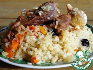 Рецепт Настоящий узбекский плов на костре