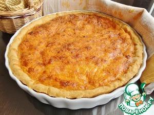 Рецепт Тарт с инжиром и сыром