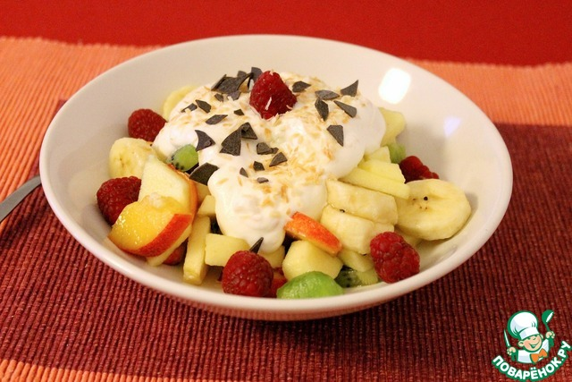 Салат райское наслаждение рецепт