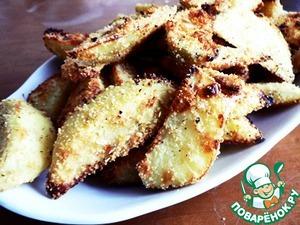 Рецепт Хрустящий картофель с розмарином