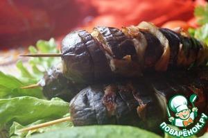 Рецепт Баклажаны с беконом