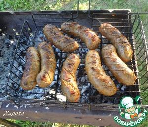Рецепт Колбаски для гриля с пряными травами