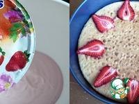 Йогуртово-клубничный торт с лавандовым бисквитом ингредиенты