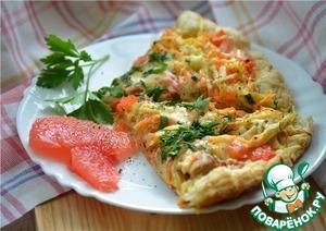 Рецепт Пицца с курицей и грейпфрутом