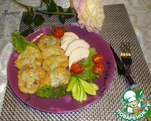 Рецепт Жаренная кольраби с сыром Дорблю