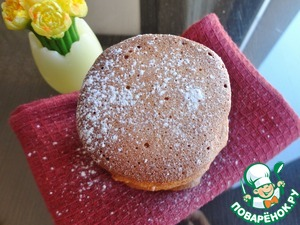 Рецепт Мягкое печенье с миндалем и фундуком