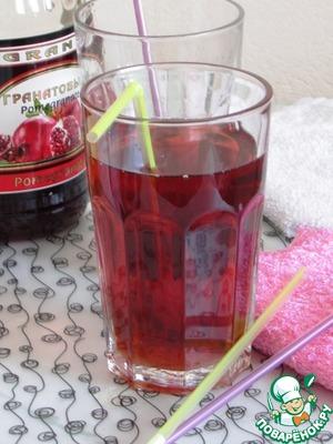 Рецепт Гранатовый чай