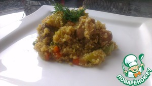 Рецепт Кашка из лебеды