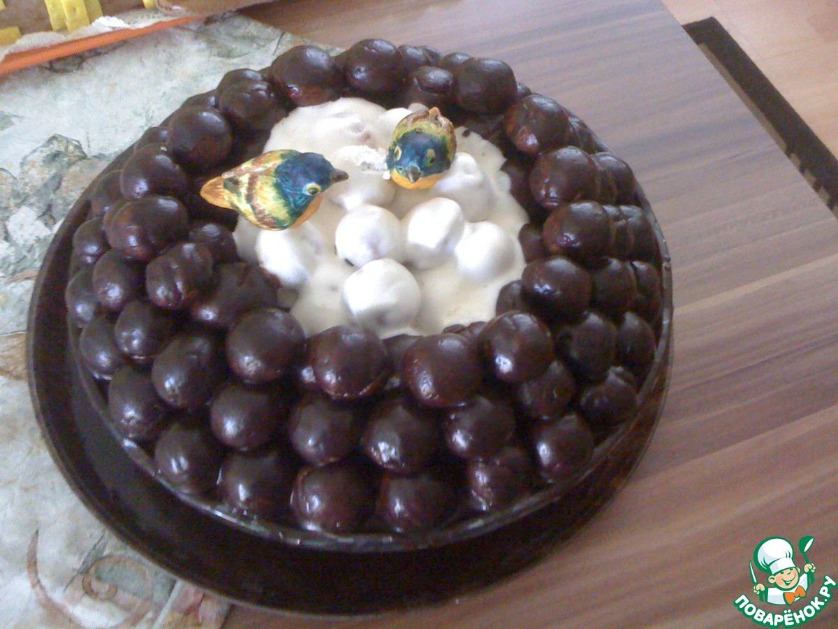 Рецепт торта гнездо глухаря в домашних условиях с фото 183