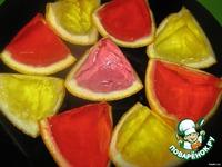 Апельсиновые дольки с желе ингредиенты