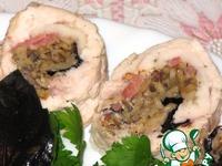 Рулет из куриной грудки с начинкой ингредиенты