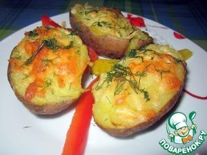 Рецепт Картошка с сыром в духовке