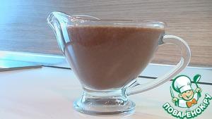 Шоколадный соус вкусный рецепт приготовления с фото пошагово готовим