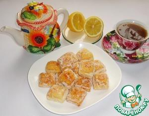 Рецепт Лимонные подушечки