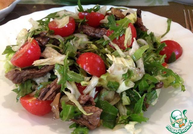 поваренок рецепты салаты с грибами рецепты