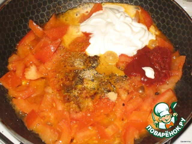 как готовить соус с мясом и картошкой в кастрюле