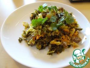 Рецепт Савойская капуста с говядиной