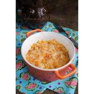 Рецепт Пикантная запеканка из тыквы с сыром