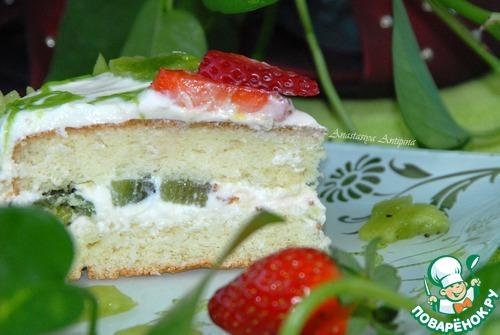 """Торт """"Аленький цветочек"""" – кулинарный рецепт"""
