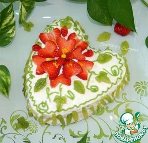 """Рецепт Торт """"Аленький цветочек"""""""