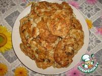 Куриные оладьи ингредиенты
