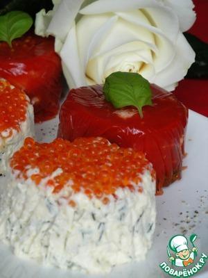 Рецепт Закуски для милых дам