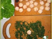 Сырно-крабовые шарики ингредиенты