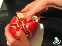 Гранат ! Как его почистить, чтобы не повредить ни одного зернышка и не испачкать руки ингредиенты