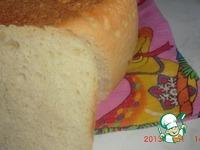 Белый хлеб в мультиварке ингредиенты
