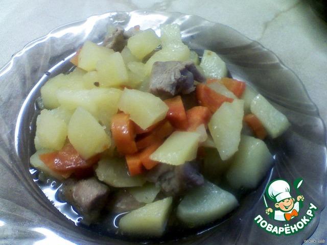Жаркое из индейки с овощами в горшочке вкусный рецепт с фото как готовить #4