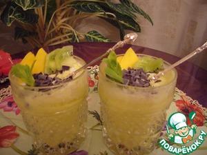 Рецепт Мусс из манго и киви