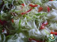 """Салат """"Витаминный"""" ингредиенты"""