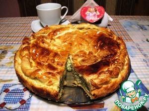 Рецепт Спанакопита-Пирог со шпинатом по-гречески