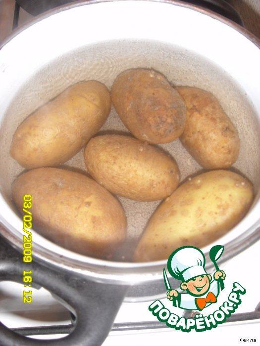 Как приготовит картошку с начинкой