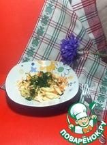 Рецепт Салат из капусты с яблоками, морковью и изюмом
