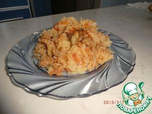 Рецепт Рис с фаршем в мультиварке