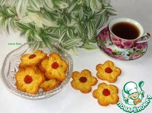 """Рецепт Цитрусовое печенье """"Цветочки"""""""