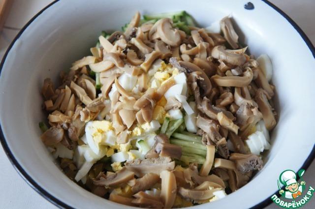 Салат чебурашка рецепт с фото