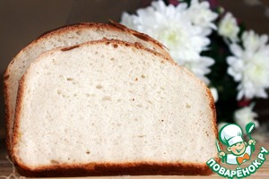 Рецепт Белый хлеб на закваске без дрожжей
