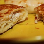 Вкуснейшие блинчики с курицей и сыром