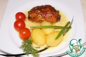 Рецепт Куриные ножки, фаршированные сулугуни