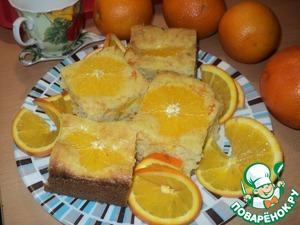 "Рецепт Пирог ""Оранжевое солнышко"""