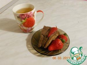 """Рецепт Кекс """"Клубнично-шоколадное настроение"""""""