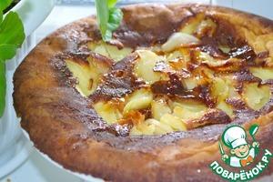Рецепт Немецкий яблочный блин