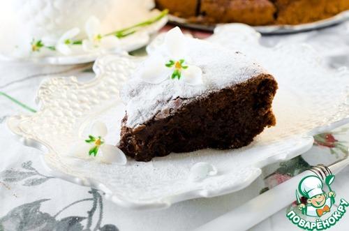 """Шоколадный торт """"Висторта"""""""