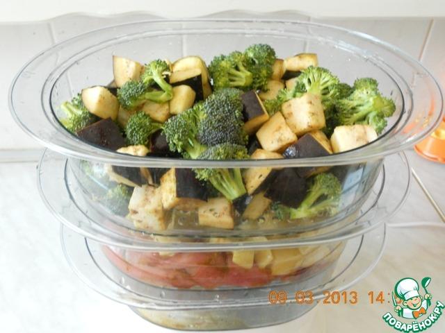 Рыба с овощами в пароварке рецепты пошагово