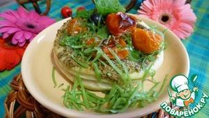 Рецепт Закусочка с помидорами черри и пикантным соусом